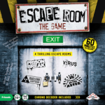 The escape room approach treats as a particular theme.